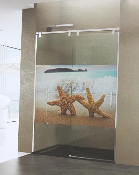 La salle de bain se fait une beaut decoya - Vinilo mampara ducha ...