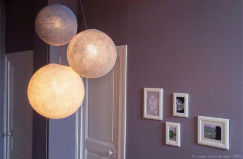 La suspension globe : objet déco de charme