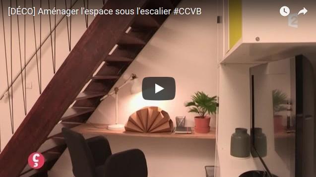 le dessous de lescalier par exemple permet de crer des espaces de rangements supplmentaires damnager un espace bureau le long du mur etc pensez y