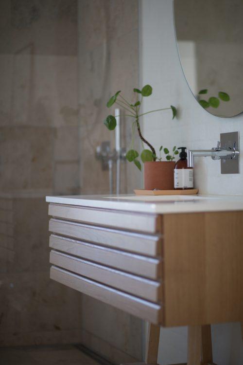 Lavabo déco de salle de bains