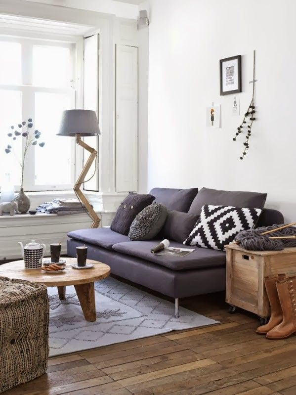 style scandinave salon