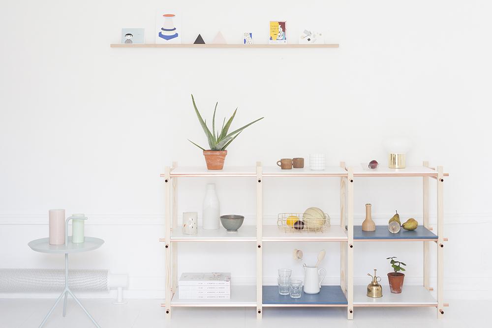 Idées pour une bibliothèque DIY